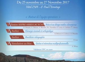 SAVE THE DATE : Journées de prévention du risque en chirurgie et anesthésie - Du 25 au 27 novembre 2017 - ASSPRO